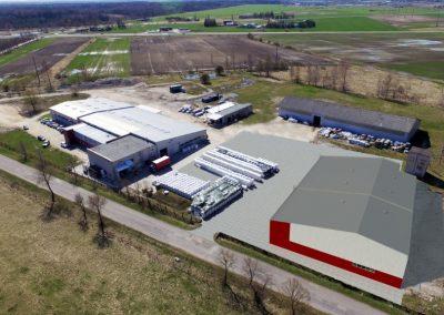 Gamybos ir sandėliavimo paskirties pastatų statyba Gergždelių km.