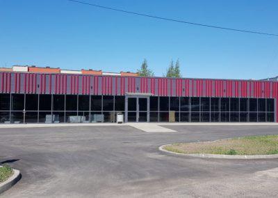 Prekybos paskirties pastato statyba Plungėje