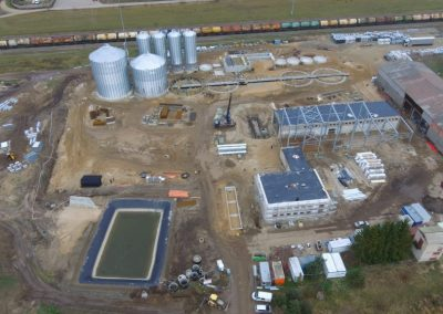 Grūdų elevatoriaus gamybos bazės rekonstravimas ir nauja statyba