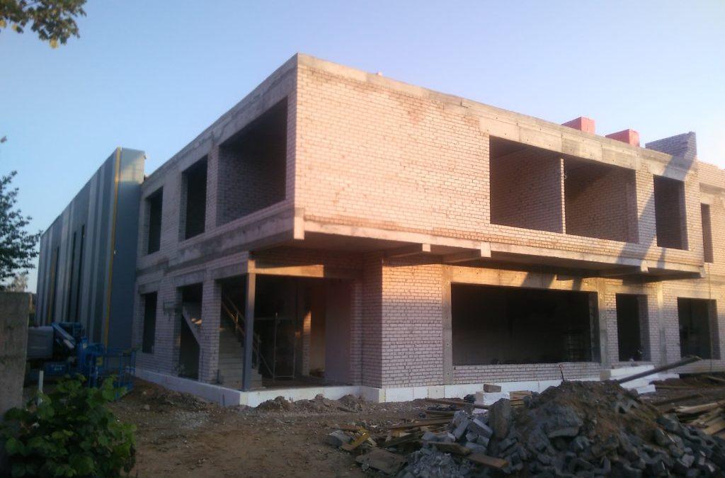 Строительство производственного корпуса в Шяуляй, ул. Прамонес