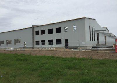 Gamybinio pastato Vaitkaus g. Šiauliuose priestatas