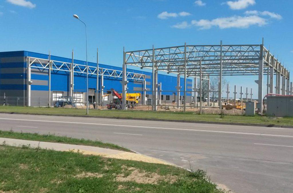Gamybinės ir pramoninės paskirties pastato rekonstravimas